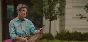 Header: Paul Phone Outside – Phone